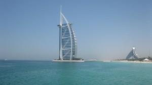 Dubai's iconic Burj al Arab hotel UAE