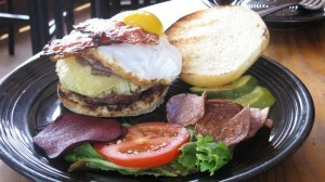 Burger from Linkery