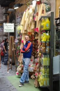 market stall italy