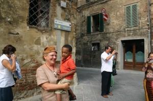 Kids in Italy