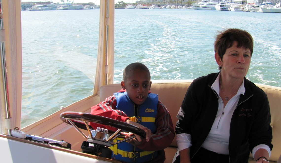 Driving the Duffy Boat