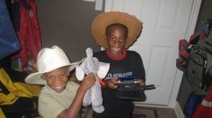 Brothers at play