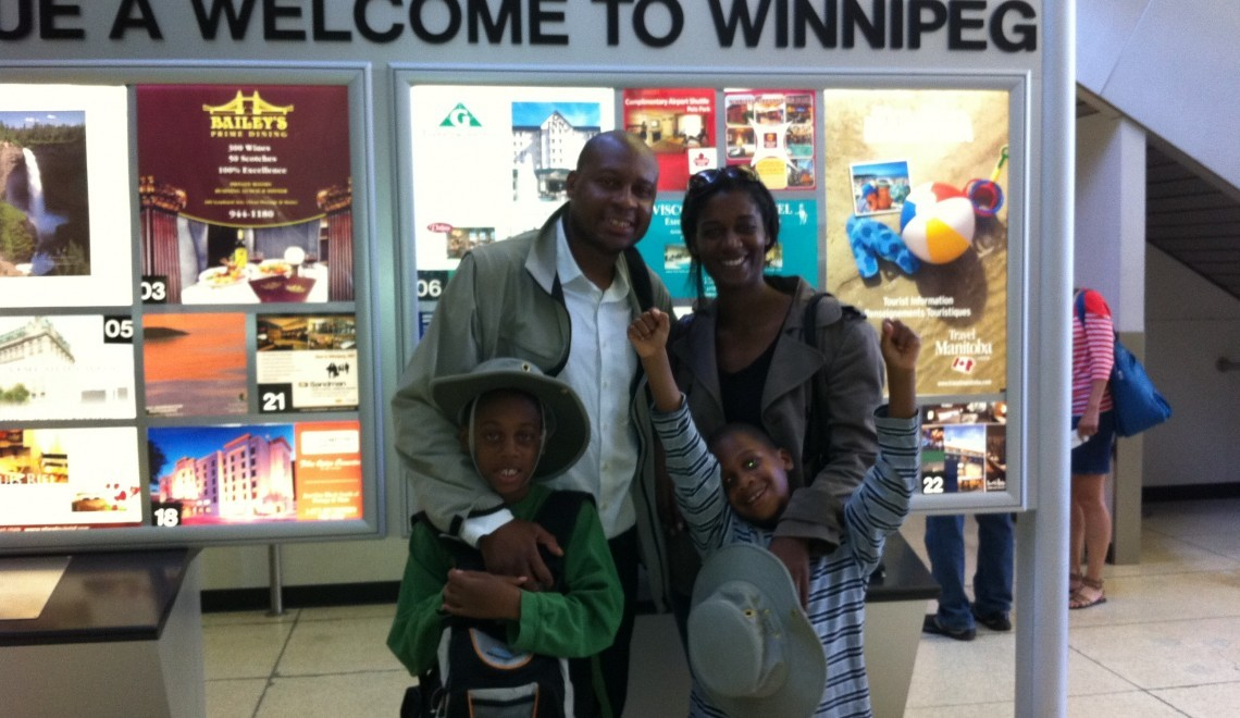 Winnipeg Arrival