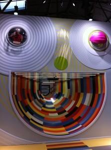 slide at children's museum