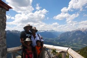 Banff Gondola Family