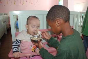 Cam feeding