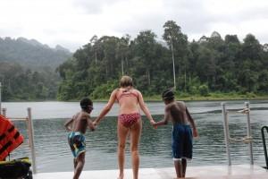 pre jump lake