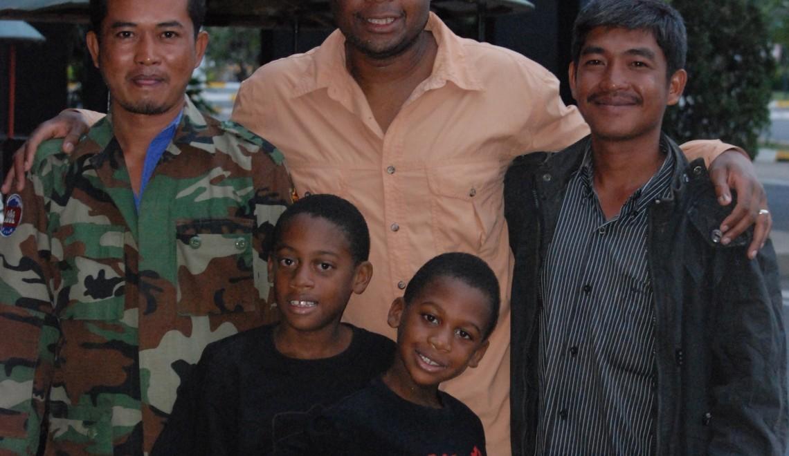 Friends in Cambodia
