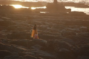 mumbai coast woman