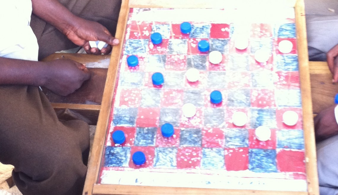 checkers board