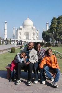 taj family photo