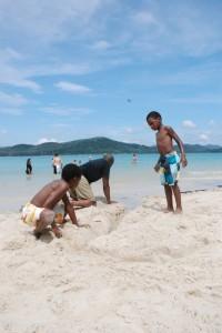 kids sand