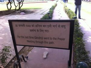 gandhi last steps