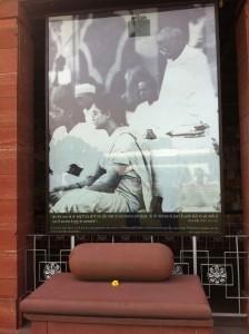 Gandhi Prayer spot