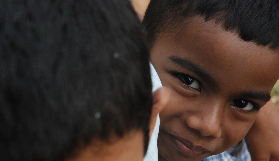 smiling boy india