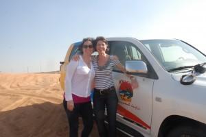 Jen and Karen Dubai