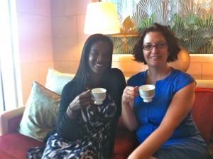 High Tea at the Ritz Carlton in Dubai