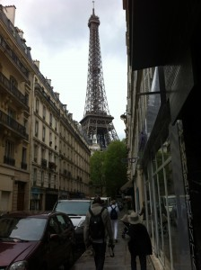on our way eiffel tower