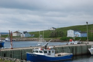 boat Canada shore
