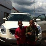 Sweet ride to take us home: 2012 Buick Enclave