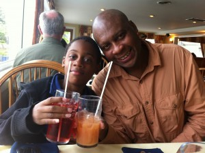 Raising a Glass with Dad