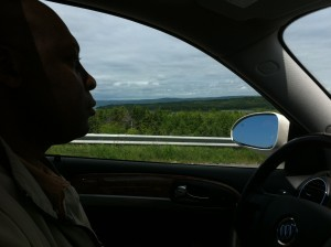 Driving Buick Enclave 2012
