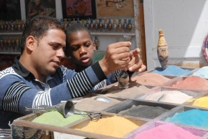 sand artist egypt