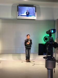 Newseum anchor Ethan Davis