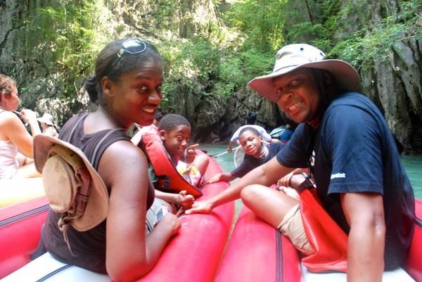 family raft phucket