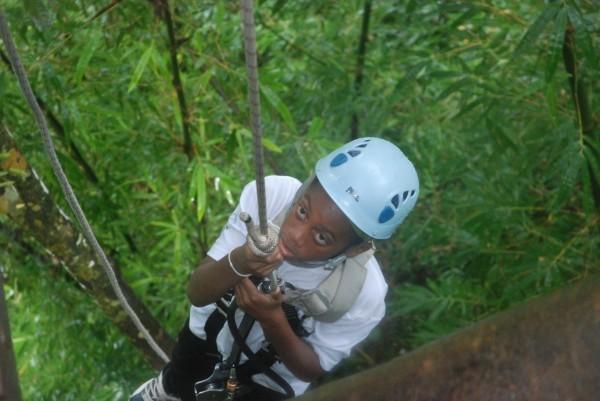 zipline climb ethan