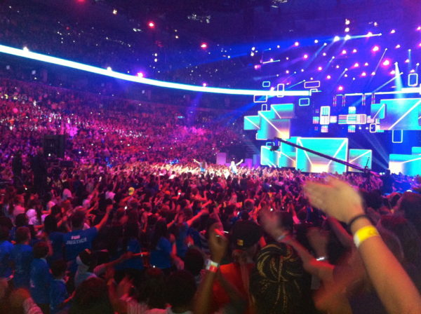 Crowd We Day