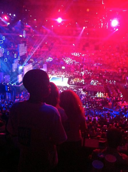 E crowd We Day