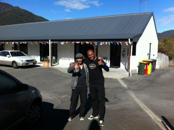 NZ laundry motel