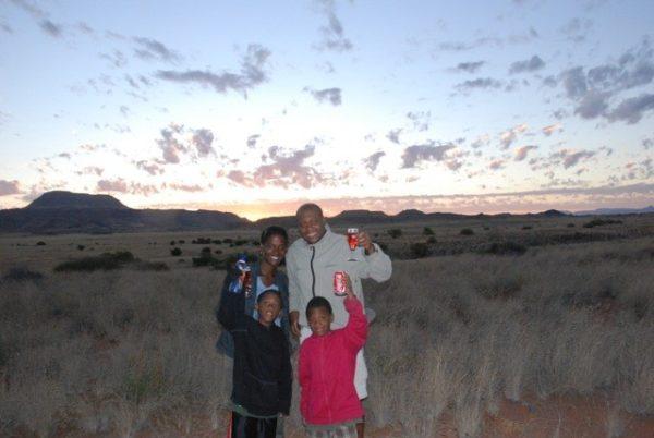 Holiday Magic Africa christmas toast 2011