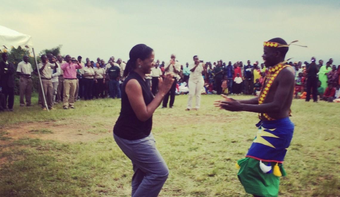 Dancing in Rwanda - Solo Women Travel Tips GlobetrottingMama.com
