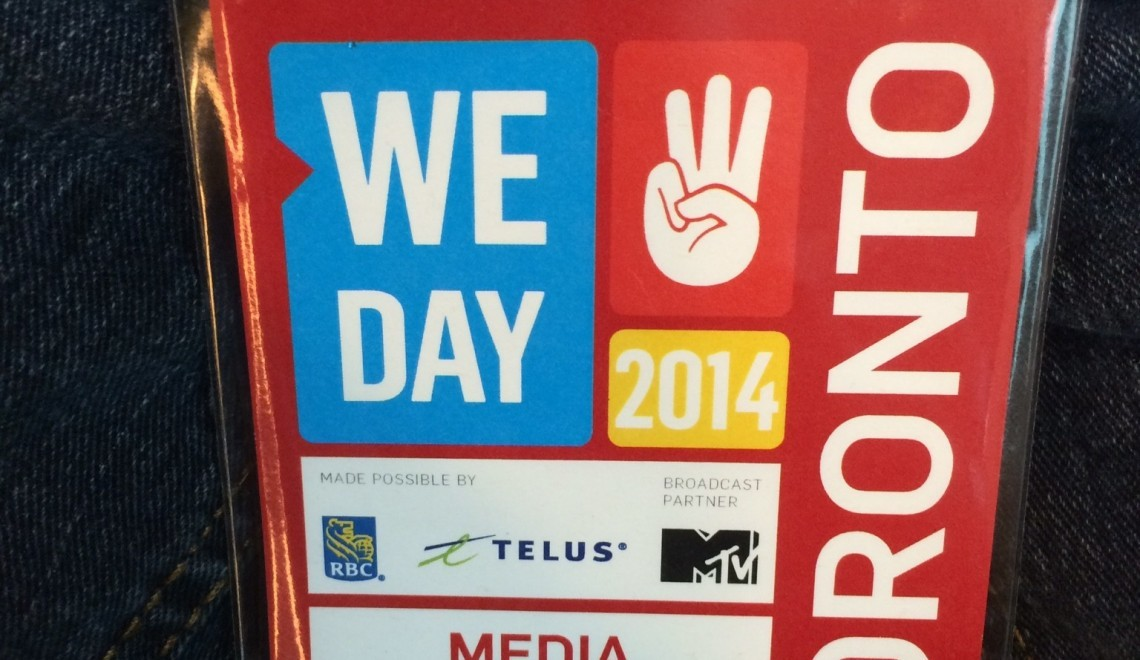 Globetrotting Kids: WE Day 2014 Rocks!