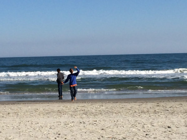 March in Myrtle Beach meant mini-golf and walks on the beach.