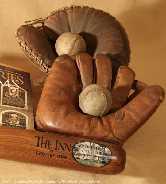 The Inn at Cooperstown offers a baseball lover's package. This and other travel deals on GlobetrottingMama