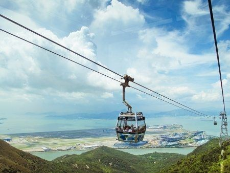 Cable Car in Hong Kong. Experience the Tranquility of Hong Kong with this Guide by GlobetrottingMama.com