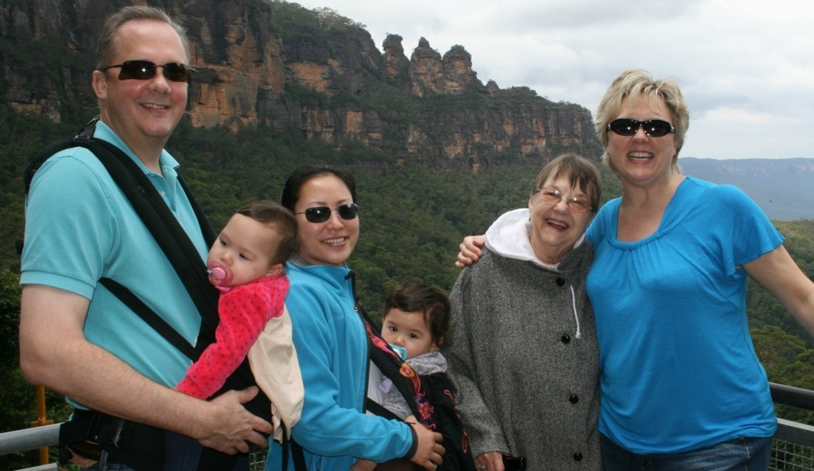 My Family Travels Too - Traveling with Aging Parents by Valerie Grubb as featured on GlobetrottingMama.com - 2