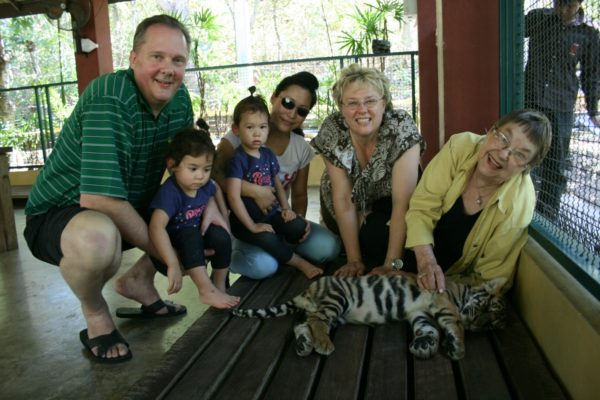 My Family Travels Too - Traveling with Aging Parents by Valerie Grubb as featured on GlobetrottingMama.com