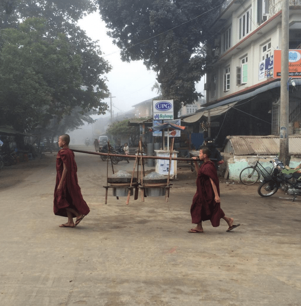 A photo from my recent trip to Myanmar - Globetrotting Mama