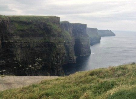 Cliffs of Moher is a popular tourist attraction in Ireland. See more trip ideas on GlobetrottingMama.com