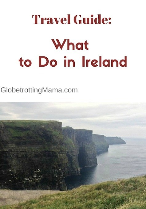 Some great destination picks in this guide to tourist attractions in Ireland - GlobetrottingMama.com