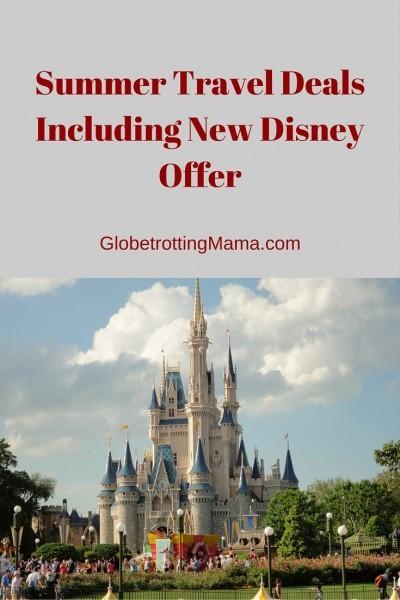 Summer Travel Deals on Globetrotting Mama - Disney