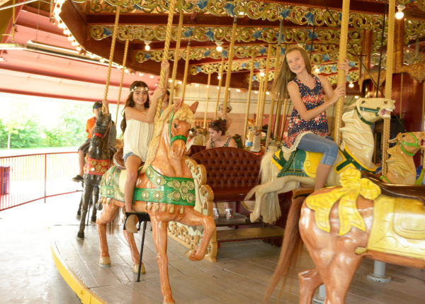 Carousel in Port Dalhousie Photo by Michal Pasco 180 Marketing and courtesy of Tourism St. Catharines.