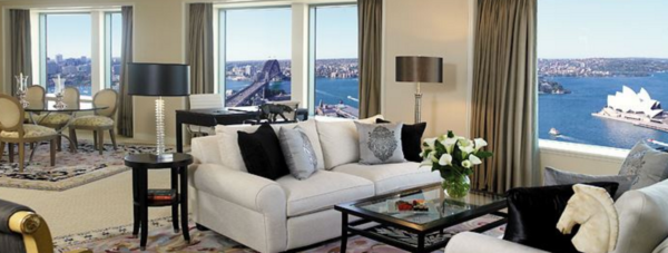 Presidential Suite at Shangri-la Sydney