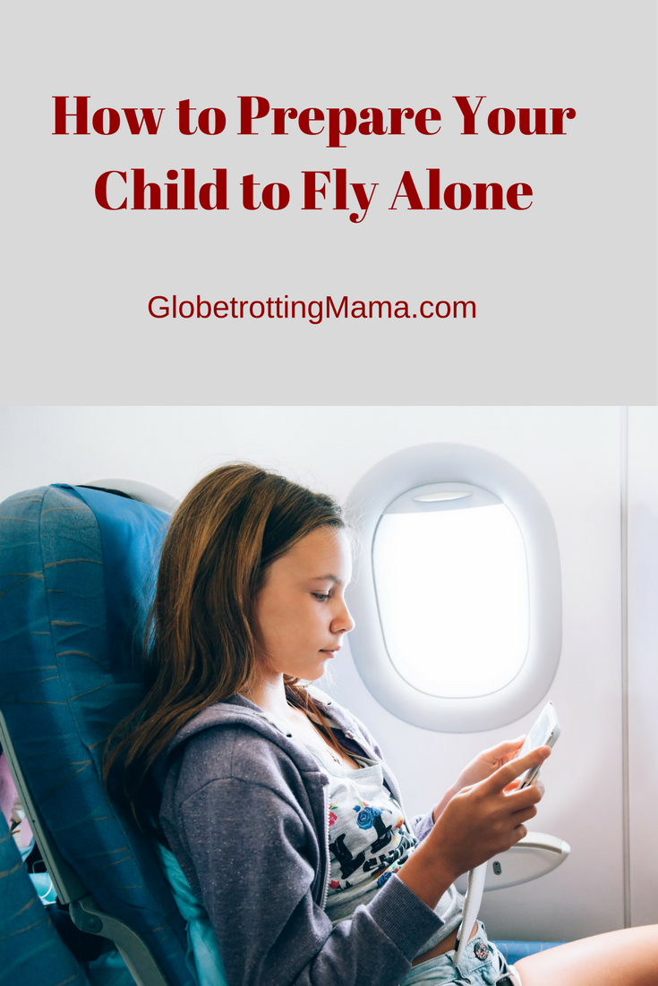How to Prepare Your Child to Fly Alone