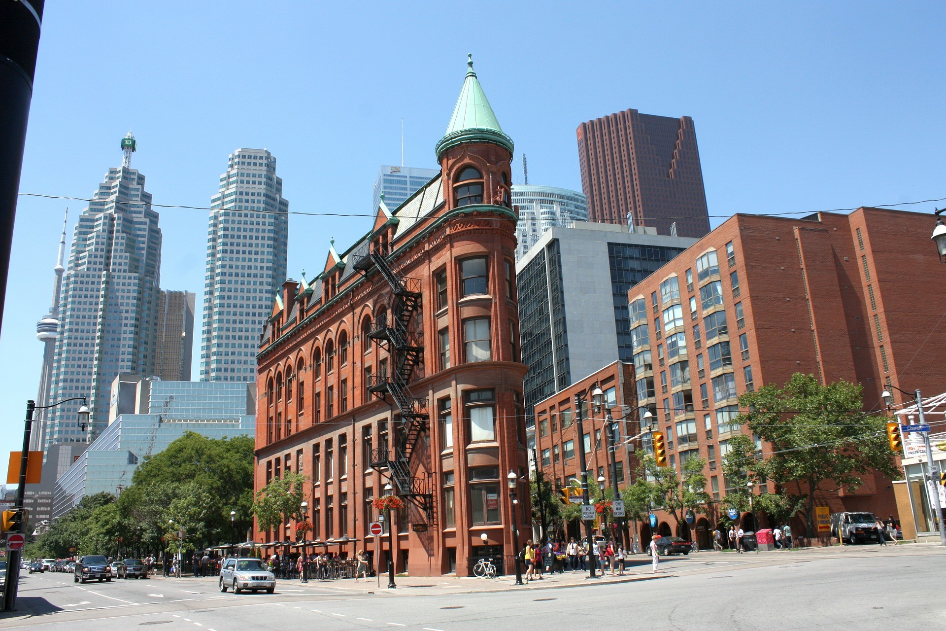 A picture of Toronto, featured in the Best Walking Tours of Canada on GlobetrottingMama.com