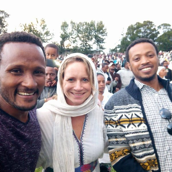 Giving on the ground in Ethiopia - Cuso International mission.